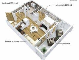 2 комнатная квартира Alytuje, Vidzgiryje, Santaikos g.