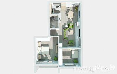 Parduodamas 4 kambarių butas Klaipėdoje, Centre, Pilies g.