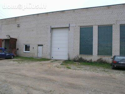 Sandėliavimo / Prekybos/paslaugų / Gamybos/sandėliavimo Patalpų nuoma Mažeikiuose, Gamyklos g.