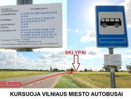 Sklypas Vilniaus r. sav., Šatrininkuose, Šumsko pl.