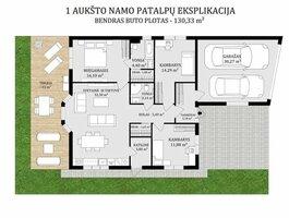 Parduodamas gyvenamasis namas Klaipėdoje, Tauralaukyje