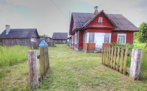 Gyvenamasis namas Šalčininkų rajono sav., Sližiūnuose, Merkio g.